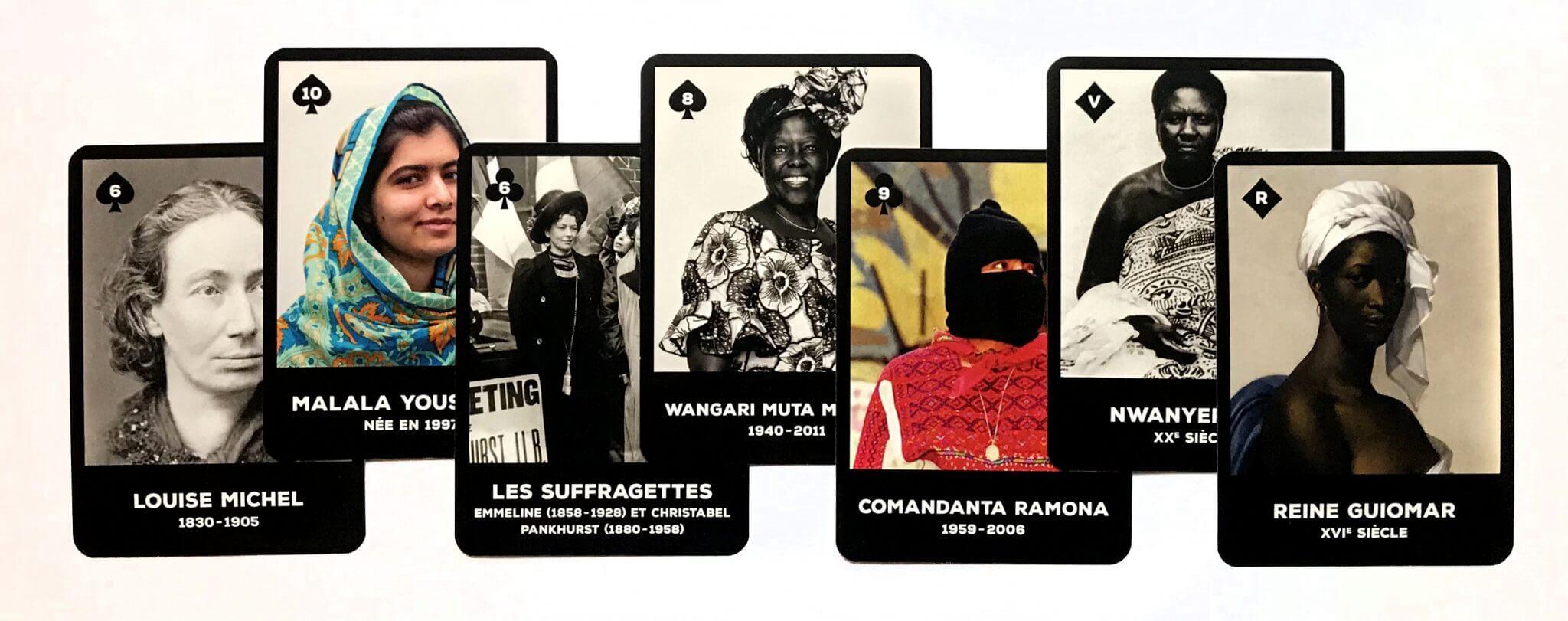 Femmes de l'histoire - 54 Cartes éclair